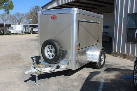 2020 Sundowner 5x8' FARRIER Bumperpull Enclosed Trailer