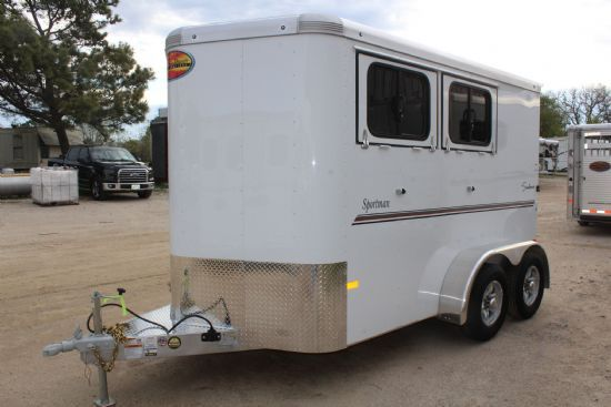 2020 Sundowner Sportman (Extra Large)  2 Horse Slant Load Bumperpull Horse Trailer SOLD!!!