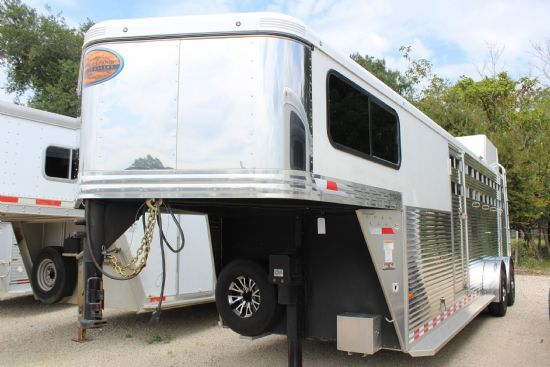 2016 Sundowner Rancher TR--Circuit Series  4 Horse Slant Load Gooseneck Horse Trailer SOLD!!!