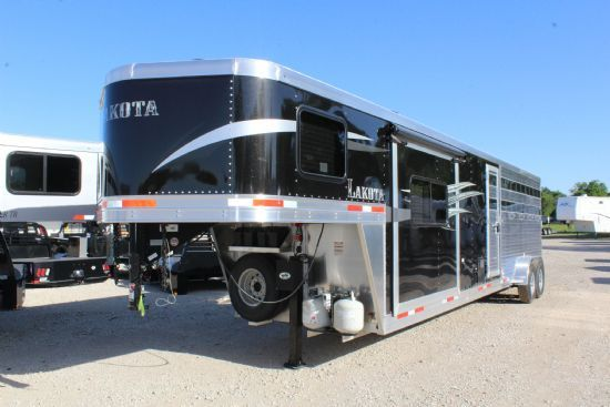 2020 Lakota Charger LE1612 (16' STock / 12' LQ) w/ Slide-Out Gooseneck  With Living Quarters