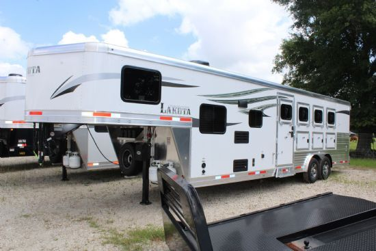 2020 Lakota C849 SR  4 Horse Slant Load Gooseneck Horse Trailer With Living Quarters