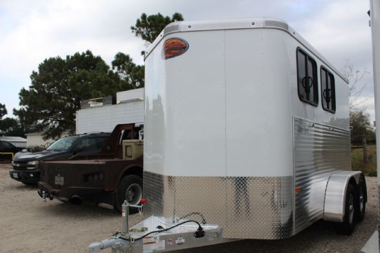 2018 Sundowner Super Sport  2 Horse Slant Load Bumperpull Horse Trailer SOLD!!!