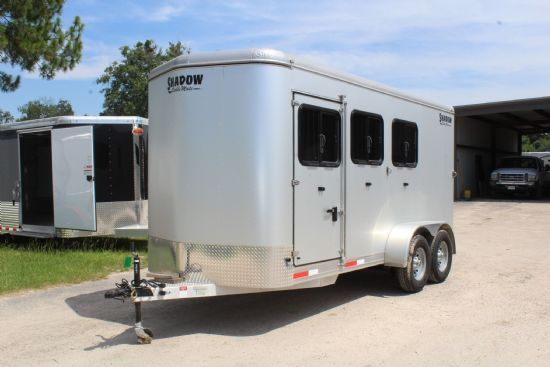 2018 Shadow Stable Mate 2 + 1  3 Horse Slant Load Bumperpull Horse Trailer SOLD!!!