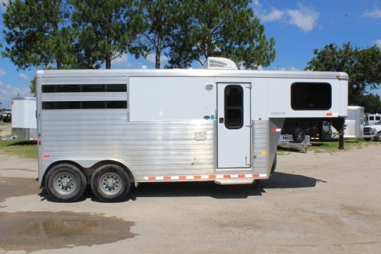 2018 Lakota C8315 sr Charger w/ Slide Out  3 Horse Slant Load Gooseneck Horse Trailer With Living Quarters