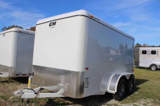 2018 CM 12' CARGO MATE Bumperpull Enclosed Trailer