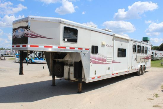 2009 Lakota L8416 Bunk Bed w/ Slideout  4 Horse Slant Load Gooseneck Horse Trailer With Living Quarters SOLD!!!