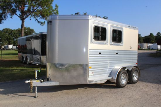 2019 CM Renegade  2 Horse Slant Load Bumperpull Horse Trailer SOLD!!!