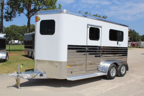 2020 Sundowner Charter TR SE- LIMITED EDITION  2 Horse Straight Load Bumperpull Horse Trailer