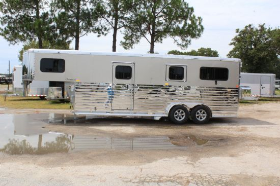 2020 Sundowner Charter TR SE 2 + 1- LIMITED EDITION  2 Horse Straight Load Gooseneck Horse Trailer