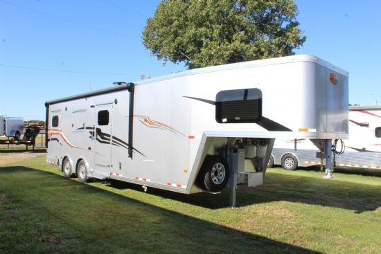 2020 Sundowner A3586 Open Model ToyHauler Gooseneck Motorsports & Toy Hauler With Living Quarters