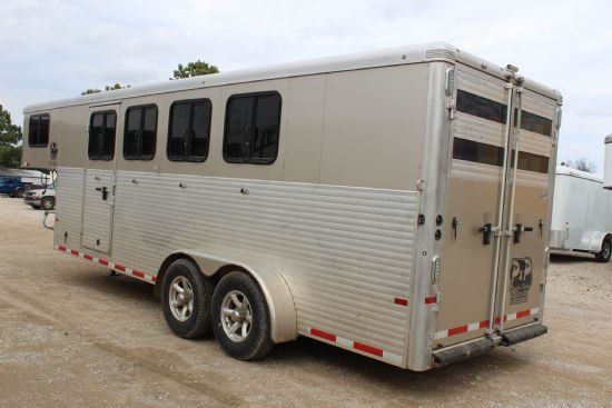 2016 Sundowner Super Sport  4 Horse Slant Load Gooseneck Horse Trailer SOLD!!!