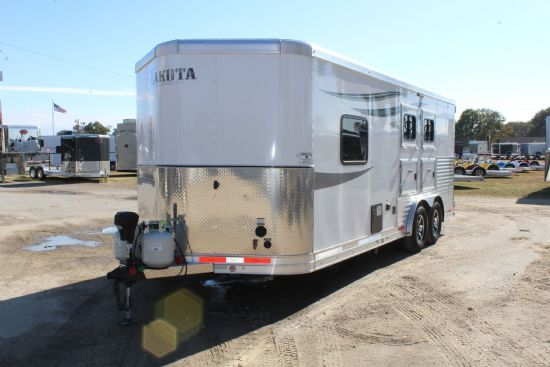 2019 Lakota BP12SE Charger  2 Horse Slant Load Bumperpull Horse Trailer With Living Quarters SOLD!!!