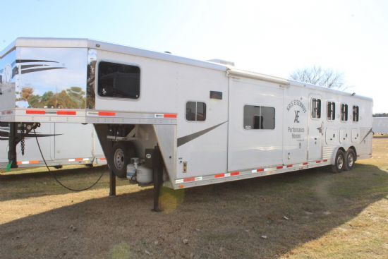 2011 Lakota C8415  4 Horse Slant Load Gooseneck Horse Trailer With Living Quarters SOLD!!!