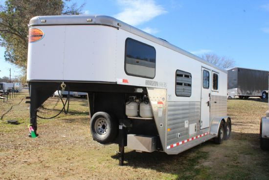 2013 Sundowner Horizon 6906 Living Quarter  2 Horse Slant Load Gooseneck Horse Trailer With Living Quarters SOLD!!!