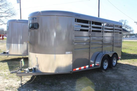 2020 CM Dakota  3 Horse Slant Load Bumperpull Horse Trailer SOLD!!!