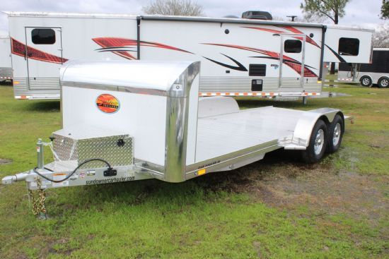 2020 Sundowner 19' Car Hauler Bumperpull Motorsports & Toy Hauler SOLD!!!