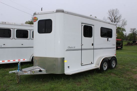 2020 Sundowner Charter TR SE-  2 Horse Straight Load Bumperpull Horse Trailer SOLD!!!