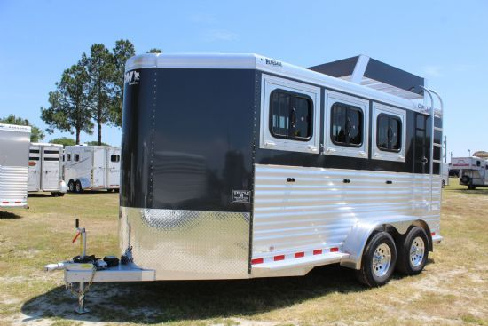 2018 CM Renegade  3 Horse Slant Load Bumperpull Horse Trailer SOLD!!!