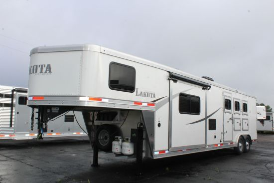 2020 Lakota AC8313 Colt  3 Horse Slant Load Gooseneck Horse Trailer With Living Quarters SOLD!!!