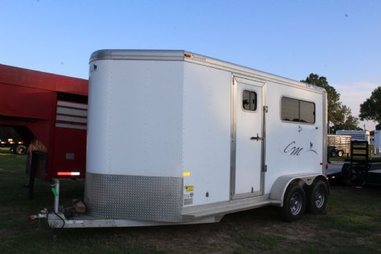 2010 CM Summit  2 Horse Straight Load Bumperpull Horse Trailer SOLD!!!