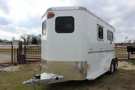 2018 Sundowner Performer  2 Horse Straight Load Bumperpull Horse Trailer