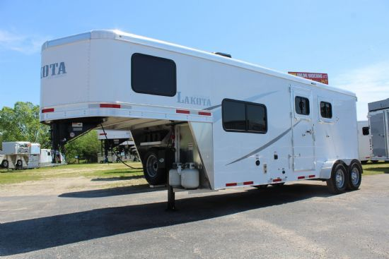 2020 Lakota AC27 Colt  2 Horse Slant Load Gooseneck Horse Trailer With Living Quarters SOLD!!!