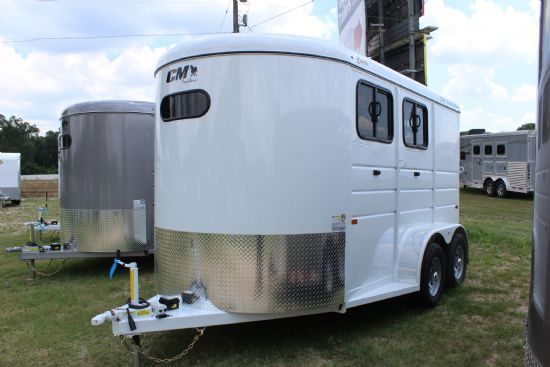 2021 CM Dakota  2 Horse Slant Load Bumperpull Horse Trailer SOLD!!!