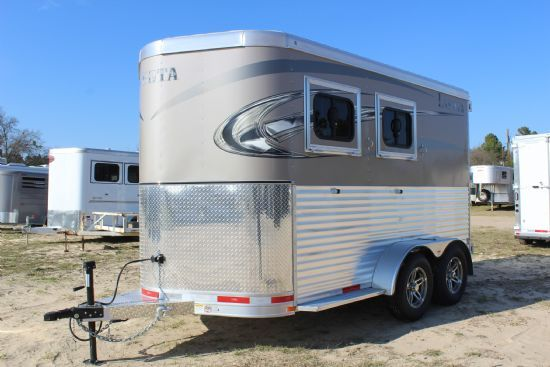 2017 Lakota   2 Horse Slant Load Bumperpull Horse Trailer SOLD!!!