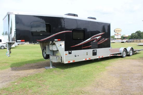 2020 Sundowner 2186 Toy Hauler Utility Open Deck Gooseneck Motorsports & Toy Hauler With Living Quarters