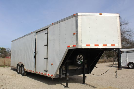 2014 Cargo Craft 24' Cargo Gooseneck Cargo Trailer SOLD!!!