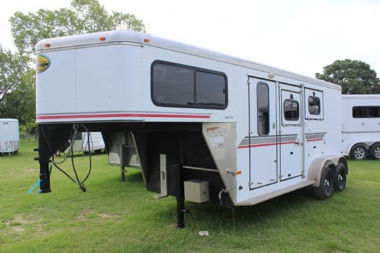 2003 Sundowner Valuelite  2 Horse Slant Load Gooseneck Horse Trailer SOLD!!!