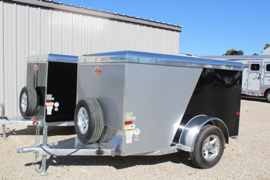 2017 Sundowner 5x8' MiniGo Cargo MG5X8 Bumperpull Enclosed Trailer