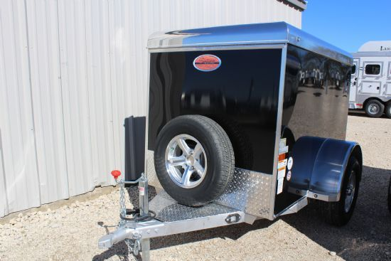 2017 Sundowner 4x6' MiniGo Cargo MG4X6 Bumperpull Enclosed Trailer
