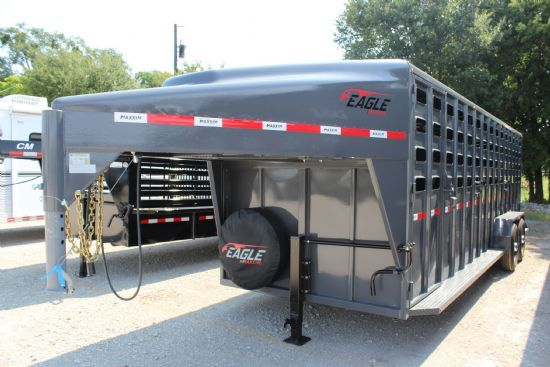 2020 Maxxim 24' Eagle with Punch Sides Gooseneck