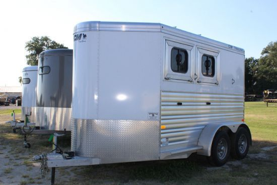 2016 CM RENEGADE  2 Horse Slant Load Bumperpull Horse Trailer SOLD!!!