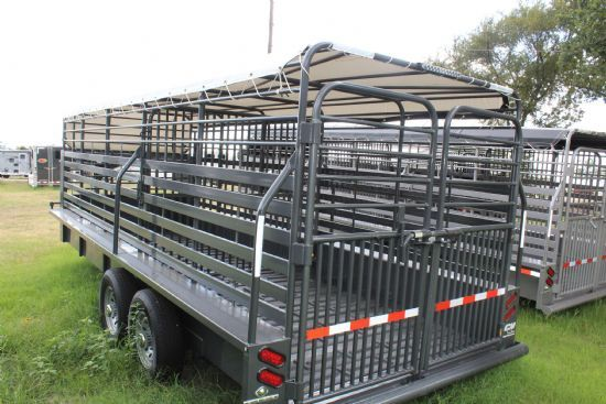 2018 CM Dakota  2 Horse Slant Load Bumperpull Horse Trailer