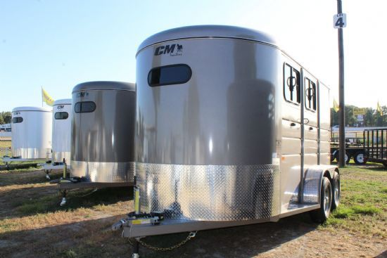 2019 CM Dakota  2 Horse Slant Load Bumperpull Horse Trailer