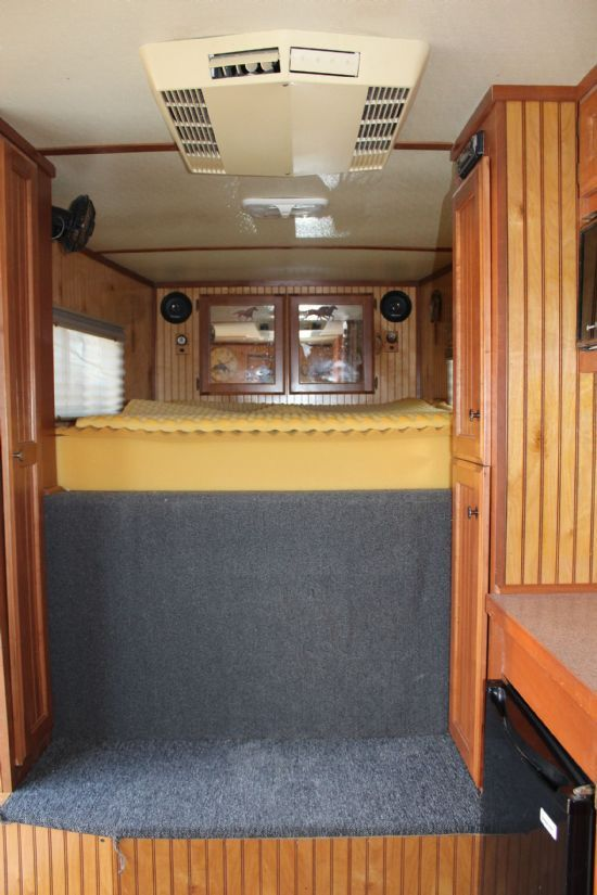 2002 CM Norstar IV  4 Horse Slant Load Gooseneck Horse Trailer With Living Quarters SOLD!!!