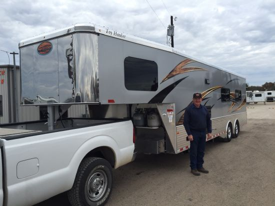 2017 Sundowner 1686 Toy Hauler w/ 19' Toy Area Gooseneck Motorsports & Toy Hauler With Living Quarters SOLD!!!