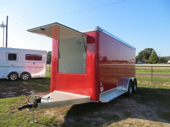 2015 Sundowner Cooldown Trailer Bumperpull Enclosed Trailer