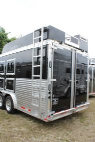 2018 Lakota C8413 Charger w/ Slide Out  4 Horse Slant Load Gooseneck Horse Trailer With Living Quarters SOLD!!!