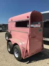 1983 WW 1 Horse  1 Horse Straight Load Bumperpull Horse Trailer SOLD!!!
