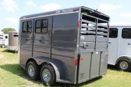 2017 CM Dakota  2 Horse Slant Load Bumperpull Horse Trailer