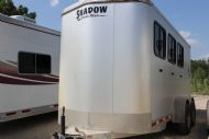 2012 Shadow 3 Horse Bumper Pull  3 Horse Slant Load Bumperpull Horse Trailer SOLD!!!