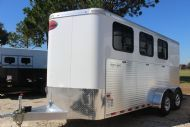 2017 Sundowner Super Sport Custom  3 Horse Slant Load Bumperpull Horse Trailer SOLD!!!